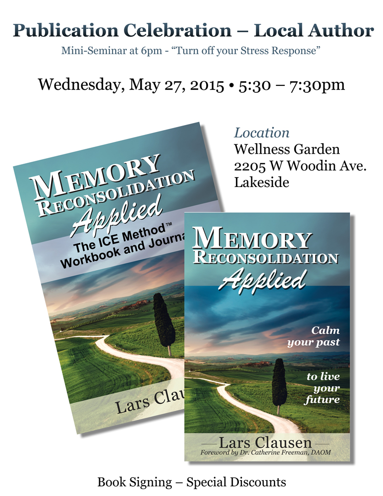 Publication Celebration - Memory Reconsolidation Applied